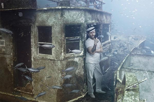 Призраки под водой - другой корабль, другая эпоха