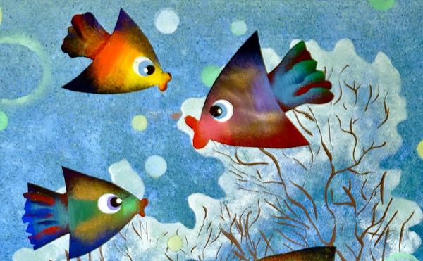 Подводный мир глазами детей