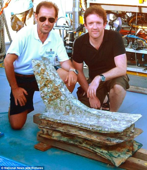 Сенсация в подводной археологии