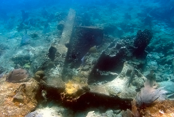 У берегов Юкатана найден британский корабль XIX века