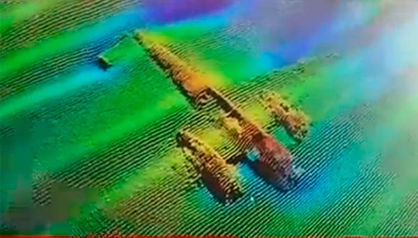 Немецкий бомбардировщик Dornier Do 17 поднят со дна моря