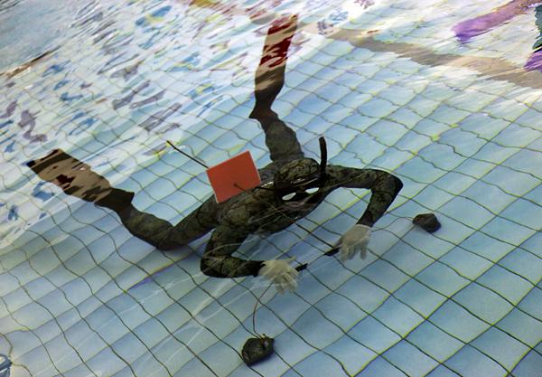 Одно ружье на двоих - интрига турнира подводных стрелков в \'Зеленой черепахе\'