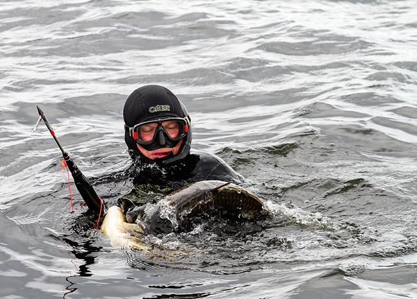 Обращение к подводным охотникам