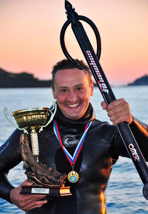 Интервью с победителем Кубка Тихого океана 2013 по подводной охоте