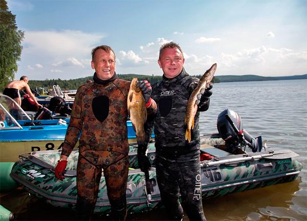 Итоги Кубка Свердловской области по подводной охоте