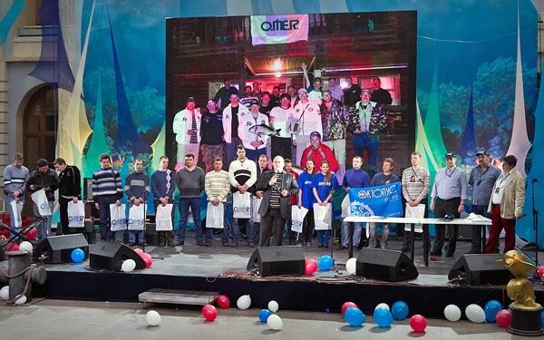 Торжественная церемония, посвящённая финалу Турнира подводных стрелков на призы компании Omersub S.p.A.