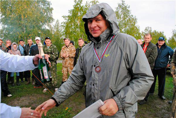 Итоги соревнований Тульского клуба подводных охотников