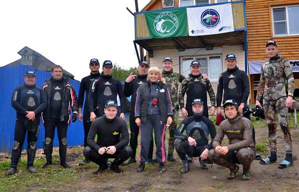Итоги 5-го чемпионата города Сарова по подводной охоте