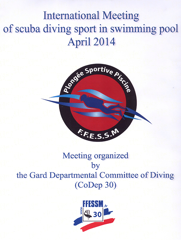 Болеем за нашу команду на международном чемпионате Nimes Sport Diving