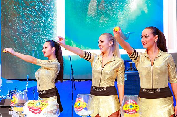 На Золотом Дельфине прошел заключительный розыгрыш призов по Бонусной программе Aqua Lung
