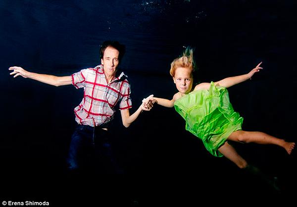Подводная фотосессия в терапевтических целях