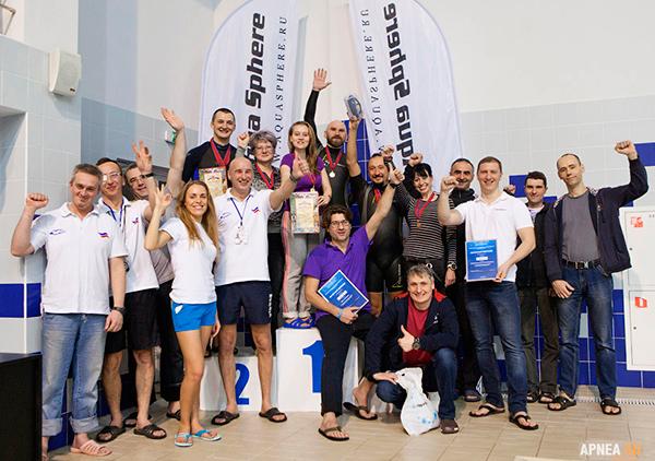 В Волгоградской области прошёл открытый чемпионат по фридайвингу