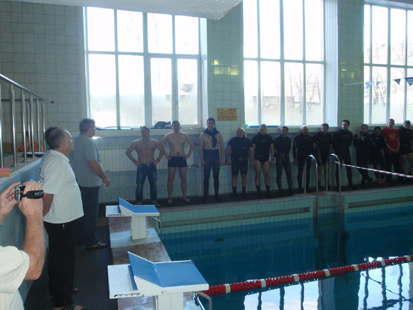 Тульский клуб подводных охотников принял участие в отборочных соревнованиях Турнира подводных стрелков Omersub S.p.A.