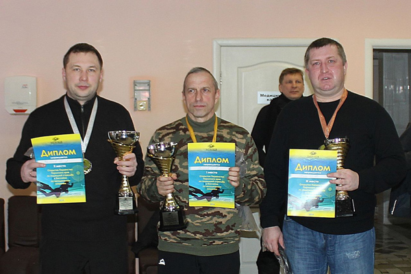 Открытое первенство Пермского края по подводной стрельбе состоялось!