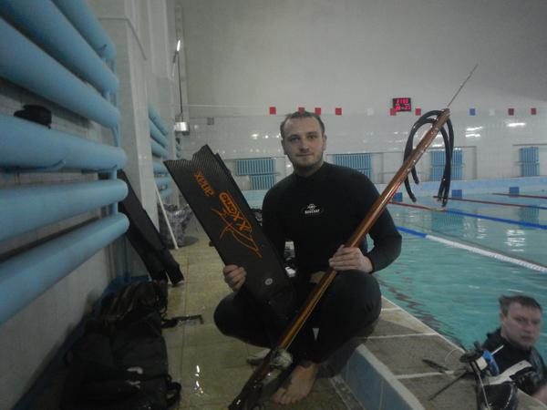 Отборочный этап Турнира подводных стрелков на призы Omersub S.p.A в Смоленском клубе Октопус
