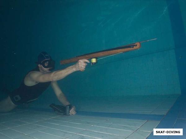 Определилась лучшая пара подводных стрелков Брянской области