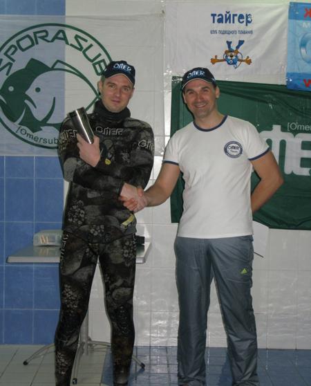 Итоги отборочного турнира подводных стрелков в Ростове-на-Дону