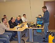 Первые семинары для инструкторов участников Партнёрской Программы Aqua Lung