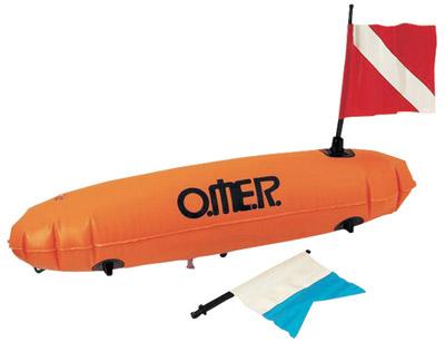 Снаряжение для подводной охоты - Буи O.ME.R. New Torpedo, New Sphere