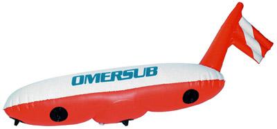 Снаряжение для подводной охоты - Буи O.ME.R. Deco, Sphere, Torpedo