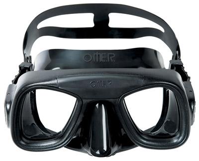 Снарядение для подводной охоты - Маска O.ME.R. Abyss