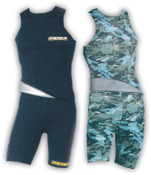 Снаряжение для подводной охоты - Майка и шорты O.ME.R.