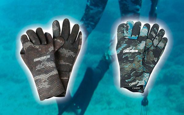 Снаряжение для подводной охоты - Перчатки O.ME.R. Brown and Ocean Mimetic