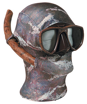 Снаряжение для подводной охоты - Капюшон O.ME.R. «Защита от медуз»