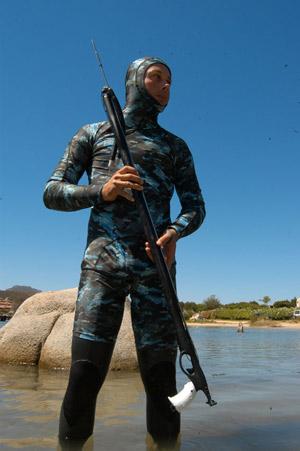 Снаряжение для подводной охоты - Куртка и шорты O.ME.R. Mimetic Lycra