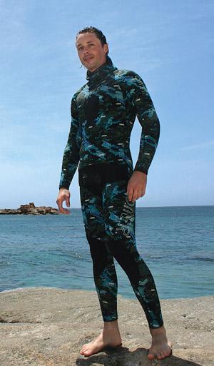 Снаряжение для подводной охоты - Гидрокостюм O.ME.R. Ocean Mimetic