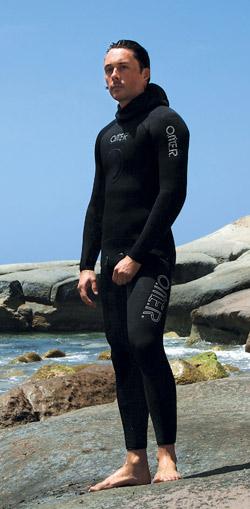 Снаряжение для подводной охоты - Гидрокостюм O.ME.R. Black Master