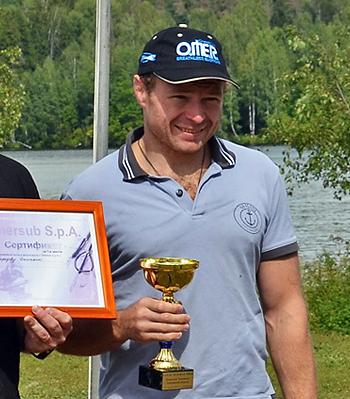Дмитрий Нефедов, победитель Открытого чемпионата Смоленской области