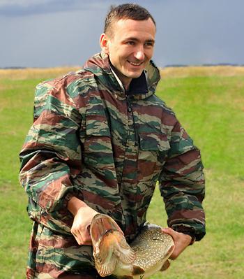 Юрий Проскурня, победитель Кубка Рязанской области по подводной охоте