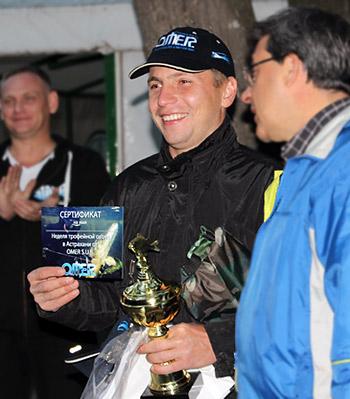 Алексей Глубоков, победитель Кубка Волгоградской области