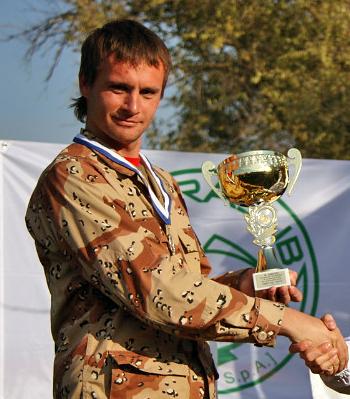 Дмитрий Говорунов, победитель Чемпионата г. Ростова-на-Дону по подводной охоте