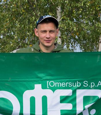 Денис Бочков, победитель соревнованийТульского клуба подводных охотников