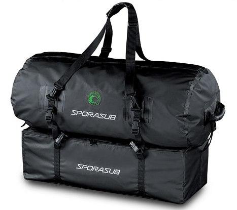 Большая сумка. подводной охоты. полиуретан. сделанная с.