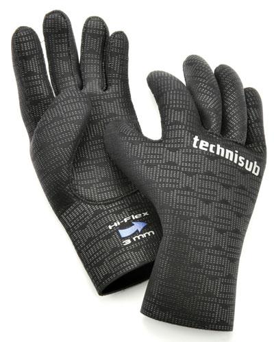 Снаряжение для дайвинга - Перчатки Technisub Hi-Flex