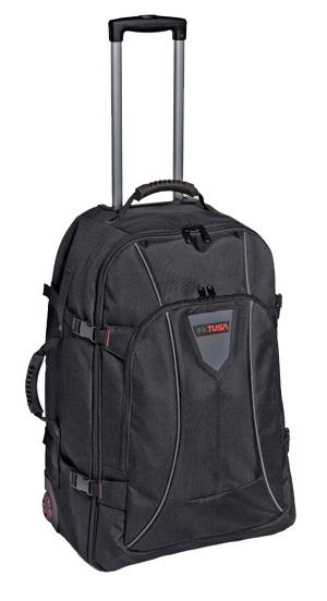 Большая и практичная дорожная сумка на колесах от компании TUSA обладает...