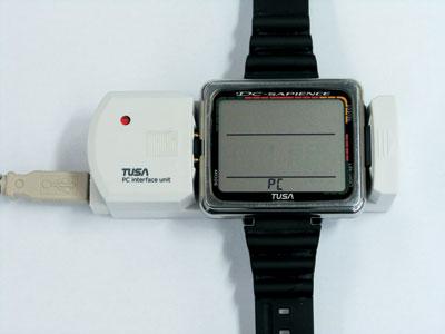 Снаряжение для дайвинга - Декомпрессиметр TUSA DC-Hunter IQ-800